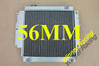56mm performance aluminum alloy radiator Jeep Wrangler YJ TJ LJ M T RHD 87 06