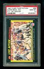 1987 Fleer Action Football #86 PSA 10 Super Bowl XXI NY GIANTS PHIL SIMMS