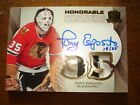 13 14 The Cup Tony Esposito Honorable Numbers Patch Auto 35 Chicago Hawks SSP
