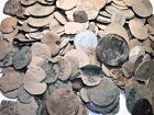 10 RAW SPANISH COLONIAL PIRATE TREASURE TIME FOR YOU CLEAN AND IDENTIFY