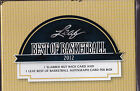 2012 Leaf Best of Basketball Factory Sealed Hobby Box