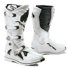 Forma Dominator TX 20 motorcycle boots mens white black all size motocross