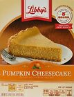 NEW Libbys Pumpkin Cheesecake Mix 17.75oz Box Pack of 2 Limited Time