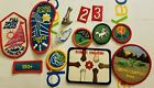 Girl scout patch and pin lot Of 10 early 1990s