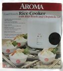 Aroma -Cool Touch Rice Cooker with Four Rice Bowls Included  (M6)