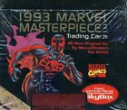 1993 Marvel Masterpieces Non Sport Trading Cards Box NEW IN BOX FREE SHIPPING