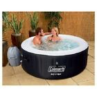 Instant Inflatable Outdoor Hot Tub Coleman Lay Z Spa Jets Plug In 4 Person Cover
