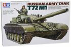 New! Tamiya Models T-72M1 Russian Army Tank figure toy hobby