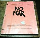 Williams NO FEAR Pinball Machine Manual - good used original