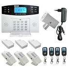 Wireless LCD GSM SMS Burglar Fire Alarm System Auto Dialer Home Security Safe