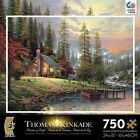 Thomas Kinkade Metallic A Peaceful Retreat