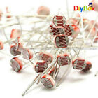 30PCS Photoresistor LDR CDS 5mm Light Dependent Resistor Sensor GL5516 Arduino D