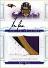 (#58 99) SP Rc Auto Jersey Patch Ray Rice 2008 National Rookie Signed Autograph