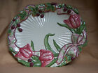 Fitz and Floyd 'Blackberry Rabbit' Large oval Serving Platter 16