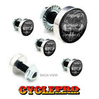 5 Pcs Billet Fairing Windshield Bolt Kit For Harley - GHOST USA FLAG SKULL - 145