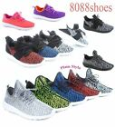 Womens Two Style Flat Light Weight Sport Sneakers Running Shoes Size 5 10 NEW