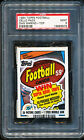 1984 Topps Cello Pack with DAN MARINO Rookie on top PSA 9