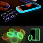 Fluorescent Soft Silicone Bracelet Bumper Case Cover For Cellphone Universal