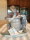 Lladro 1406 Love Letters - Norman Rockwell Series. Mint Condition