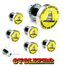 7 Pcs Billet Fairing Windshield Bolt Kit For Harley - DON'T TREAD ON ME - 119