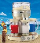 Frozen Concoction Drink Machine Margarita Maker Party Mixer Blender Silver Beige