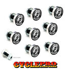 9 Pcs Billet Fairing Windshield Bolt Kit For Harley - POW MIA - 001