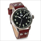 Laco Genf 1925 Classic Analog Quartz Pilot Watch with SuperLuminova #861807