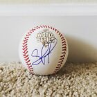Salvador Perez Signed Autograph 2015 World Series Baseball Kansas City Royals