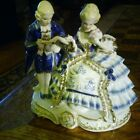 french porcelain statue man and woman