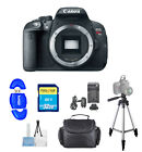 Canon EOS Rebel T5i DSLR Camera Body Only PRO BUNDLE BRAND NEW