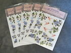 5 PACKS EVERYDAY MEMORIES RUB ON TRANSFER HUMMING BIRDS AND IVY EMBELLISHMENT