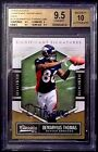 BGS 9.5 10 Auto Rc (# 399) Demaryius Thomas 2010 Classic Rookie Signed Autograph