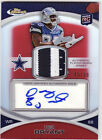2010 TOPPS FINEST DEZ BRYANT RC PATCH AUTO 50 RED REFRACTOR DALLAS COWBOYS