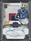 SAMMY WATKINS 2014 CROWN ROYALE GOLD SILHOUETTE RPA JUMBO 4 CL PATCH AUTO RC 49