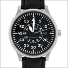 Aristo Swiss Automatic Pilot Watch with Type-B Black Dial and 42mm Case #3H116