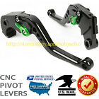 US For KAWASAKI ZX6R/636 Z1000 2011-2016 CNC BRAKE CLUTCH LEVERS 2012 2013 2015