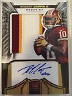 ROBERT GRIFFIN III 2012 CROWN ROYALE ROOKIE PATCH AUTO #34 99 GOLD SILHOUETTE RC