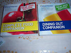 Weight Watchers Dining Out Companion and Complete Food Companion 2008 edition