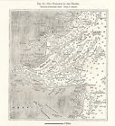 ANTIQUE MAP, KENT, RIVER THAMES, ENTRANCE TO THE THAMES 1878