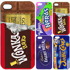 Custom World Chocolate Sweets Candies Cute Funny Novelty Hard Phone Case Cover