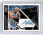 CARMELO ANTHONY 2005-06 Luxury Box COURTSIDE Auto # 10 25 Autograph REDEMPTION