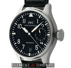 IWC Big Pilot 7 Dday Power Reserve Steel 46mm Black Dial IW5004-01
