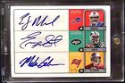 (#2 5) Auto Rc 6 QB EJ Manuel Geno Smith MIke Glennon Matt Barkley Rookie Signed