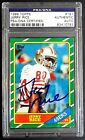 49ers PSA DNA Rc Auto HOF SB Champ Jerry Rice 1986 Topps Rookie Signed Autograph