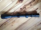 VINTAGE WEAVER V8 ALL STEEL SCOPE W RINGS 25X 8X VARIABLE TRIPLE CROSSHAIR NICE
