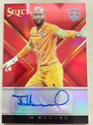 2015 Panini Select Soccer TIM HOWARD USA Red Prizm Auto Signed Rare 5 15