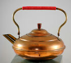 Vintage Copper And Brass Made In Holland Mini Tea Kettle