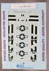1/72 SuperScale Decals 72-777 P-51 B/C MUSTANG INVASION STRIPES mint