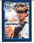 1996 Columbus Clippers Police Issued Jorge Posada #NNO New York Yankees!!! RARE!