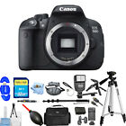 Canon EOS 700D T5i Body Only Digital SLR Camera MEGA BUNDLE BRAND NEW